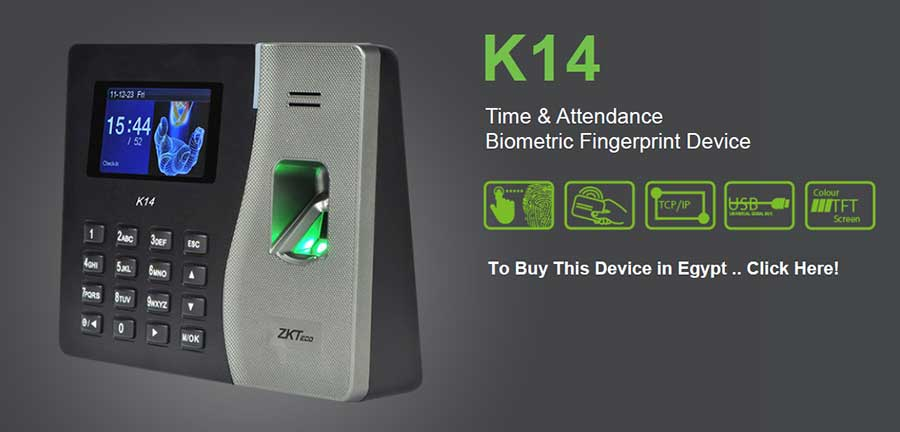 دستگاه حضور غیاب K14